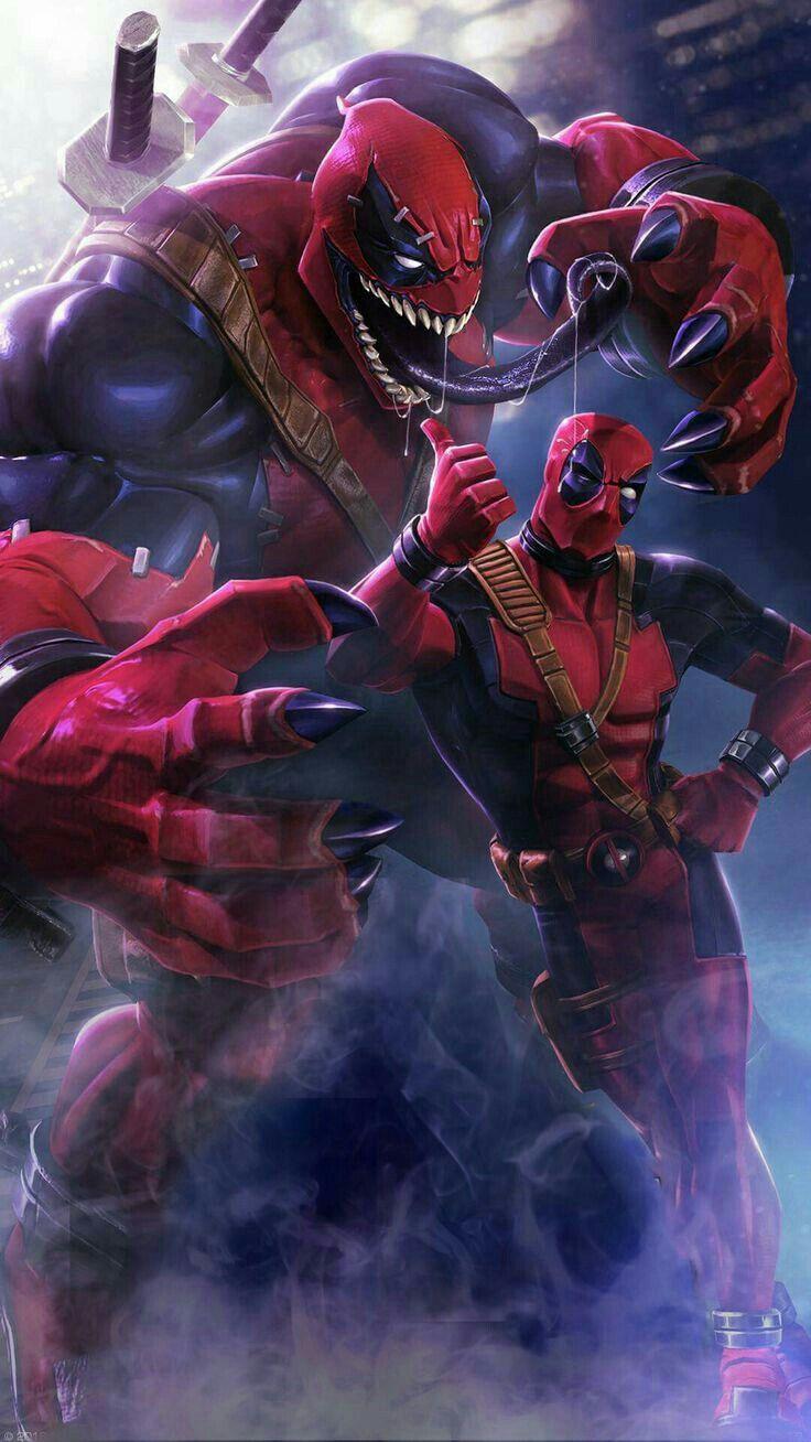 Deadpool And Venompool Deadpool Wallpaper Marvel Avengers Wallpaper