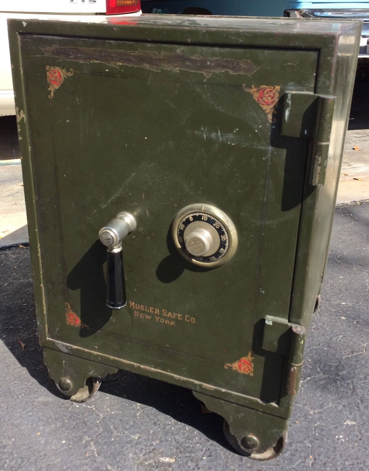 Vintage Antique Mosler Safe Co  Safe (no combo) | Antiques in 2019