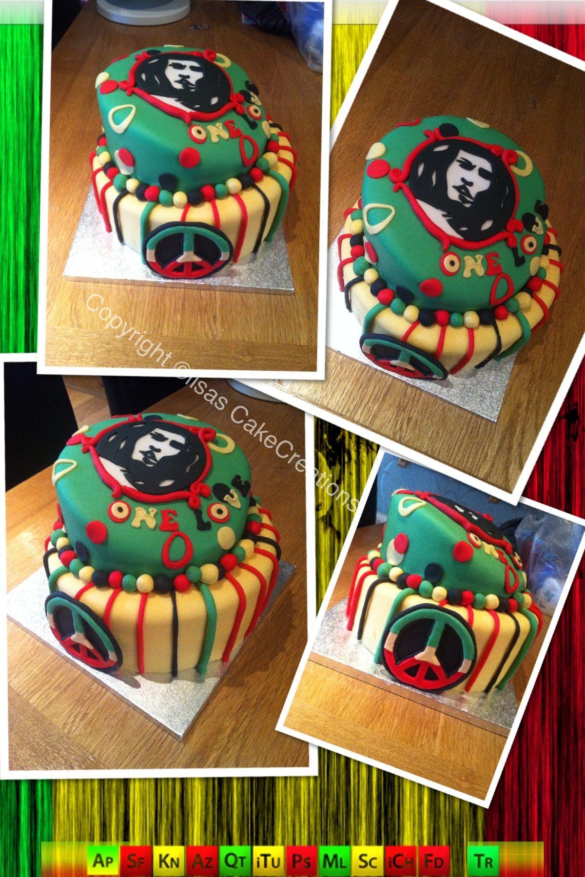 Google themes rasta - Bob Marley Cake Reggae Theme