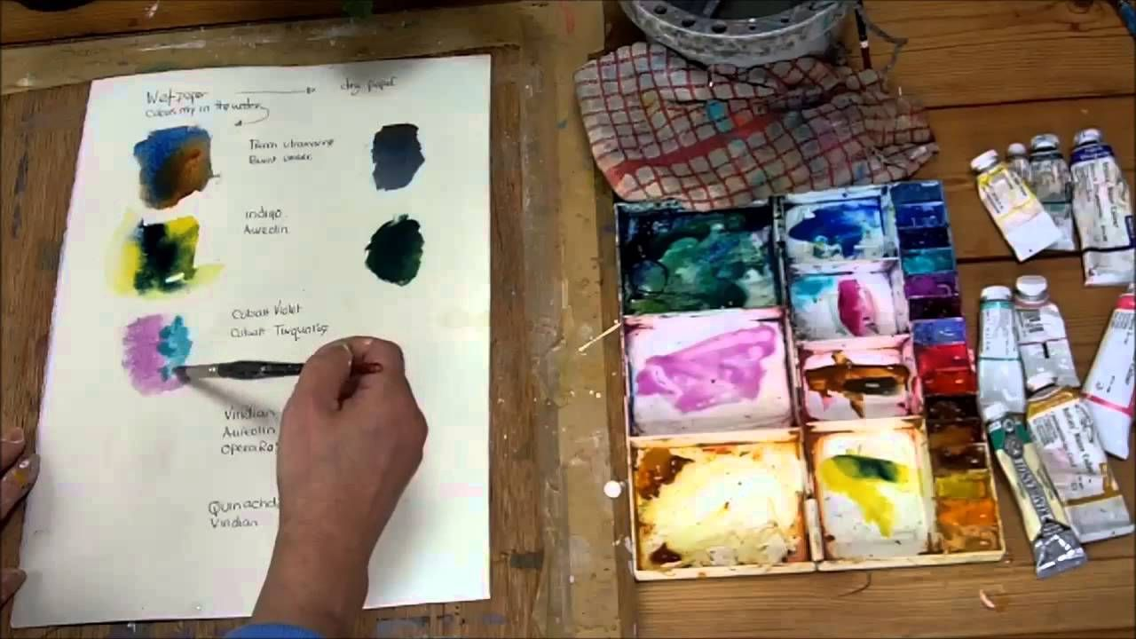 How to Colour Mix with Watercolour by Sheila Gill