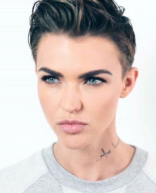 Ruby Rose Hair Hairstyle Haircut Style Short Haircuts Shorter Ideas Woman Crush Cuts Beauty