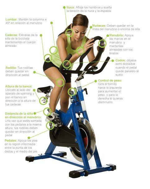 Postura correcta en la bicicleta - Correct posture on the