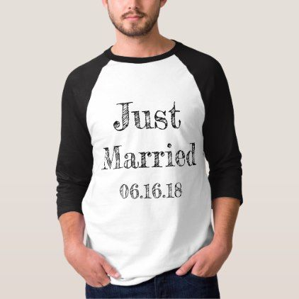 Super cool just married groom white and black t shirt cyo super cool just married groom white and black t shirt cyo customize design idea do it yourself diy diy pinterest wedding diy wedding and weddings solutioingenieria Images