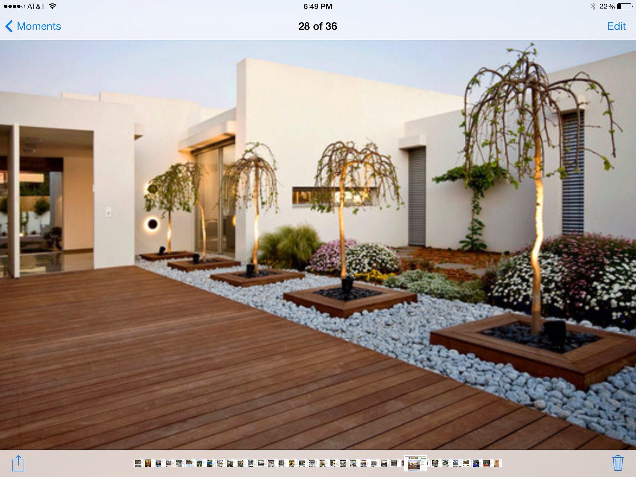 Zen Garden Low Maintenance Modern Landscaping Modern 400 x 300