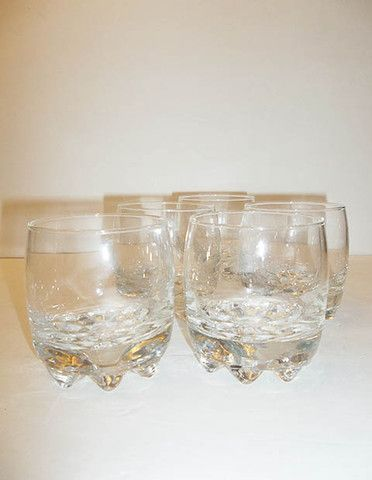 Great Crystal Rock Glasses Made In Italy Bormioli Rocco