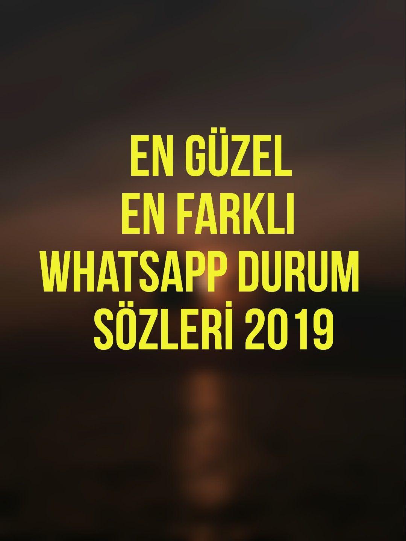 Whatsapp Durum Sozleri 2019 Guzel Soz Insaniyet Ilham Verici Sozler