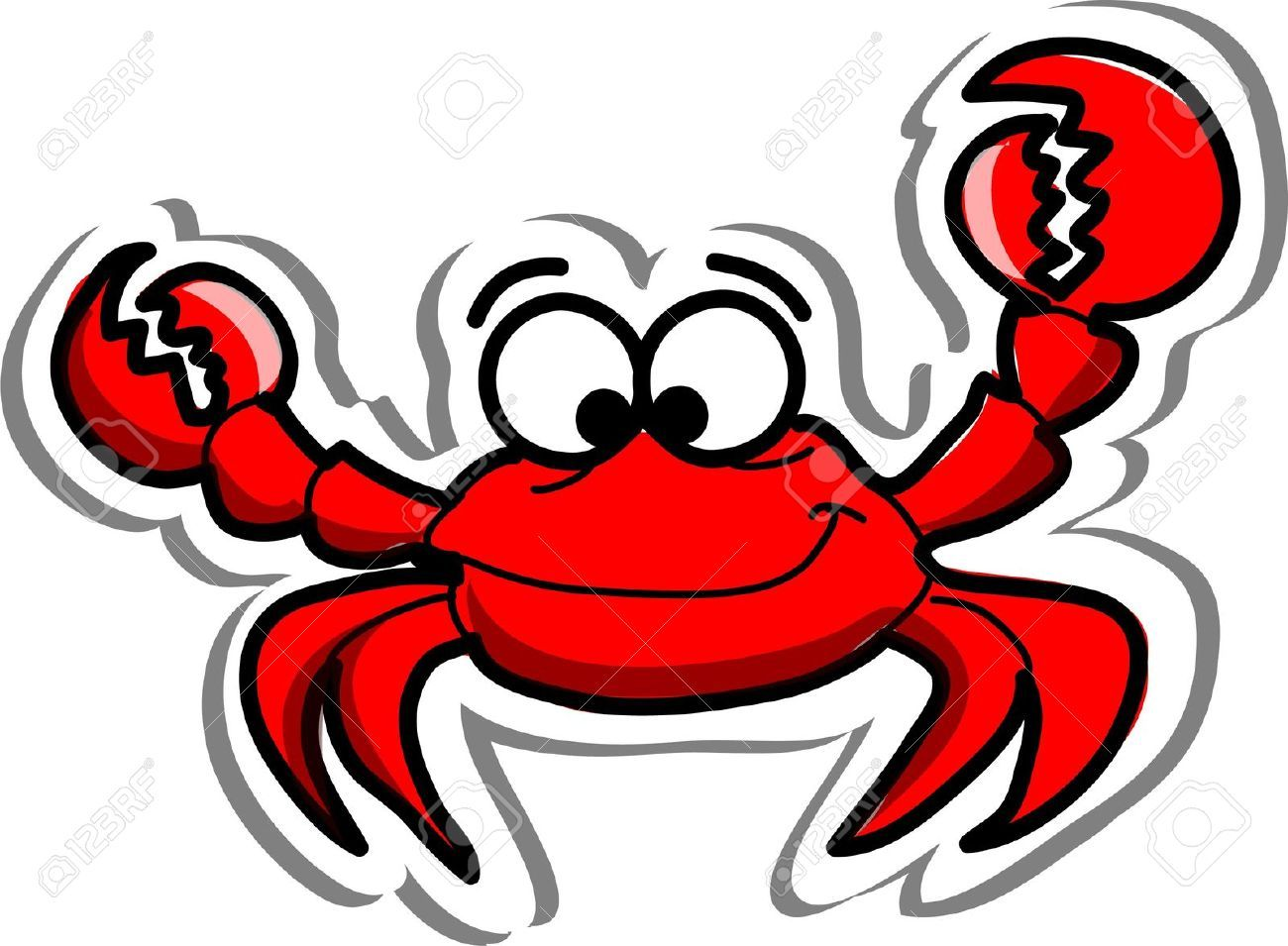 medium resolution of crabs stock illustrations cliparts and royalty free crabs vectors