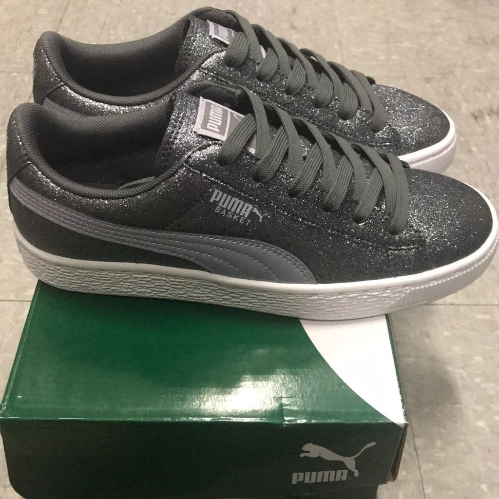 puma basket glitz jr
