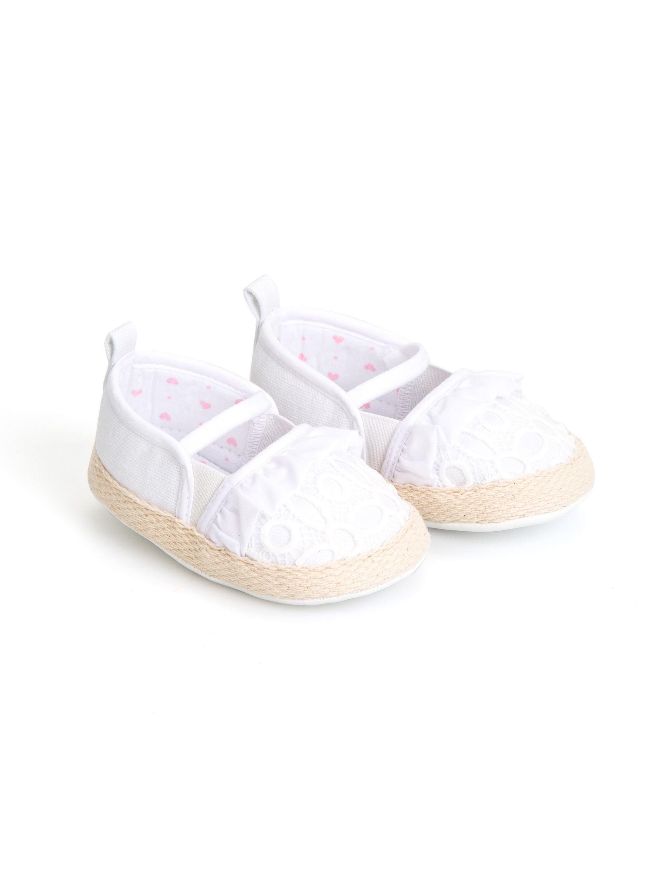 کفش سفید نوزادی ال سی وایکیکی Shoes Sandal Espadrille Espadrilles