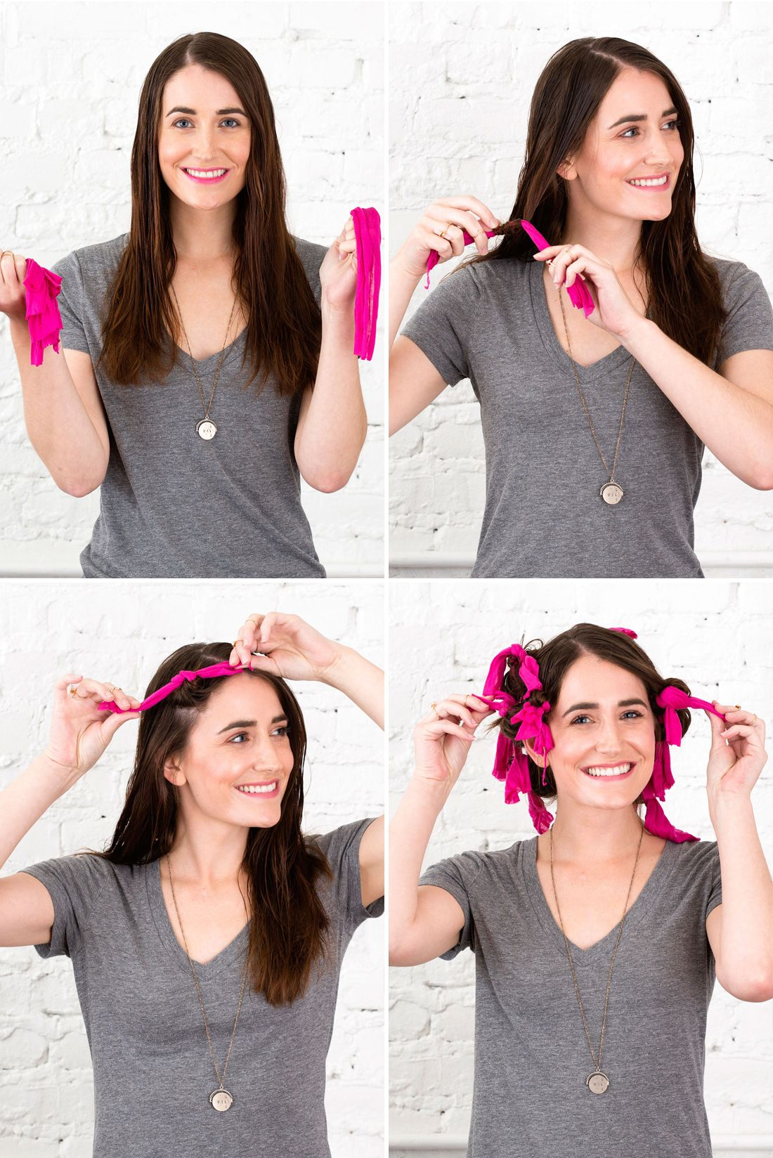 3 noheat ways to style wet hair in the summertime short