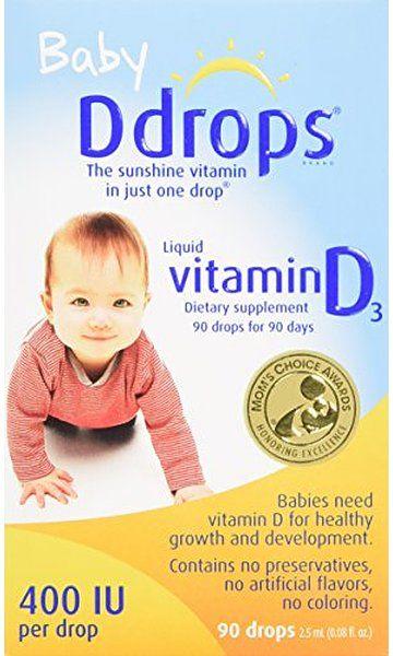 Use For Baby Cough And Cold Ddrops Baby 400 Iu 90 Drops 2 5ml 0 08 Fl Oz Baby Vitamins Vitamin D Vitamins