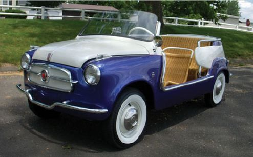 1958 Fiat Jolly Best Beach Car Fiat Mobil Antik