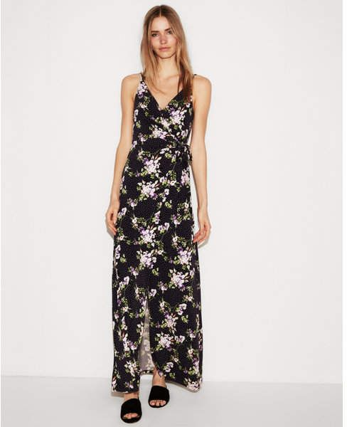 a7baccacdfe Express floral print strappy maxi dress | Products | Strappy maxi ...