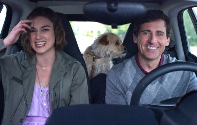 Kiera Knightley and Steve Carell in Seeking a Friend for the End of the World.