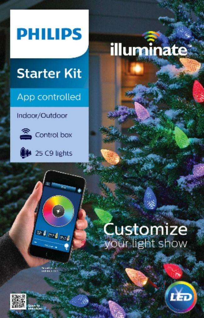 Phillips Illuminate Starter Kit (App controlled)