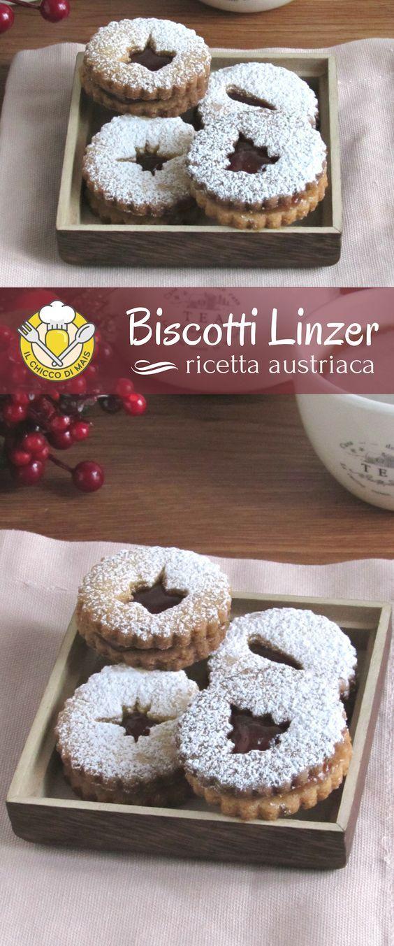 Biscotti Linzer la ricetta austriaca dei biscotti alle