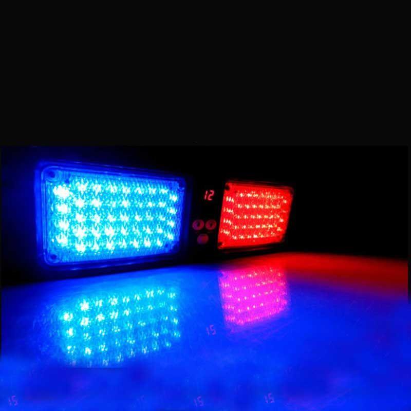 Super Bright Car Truck Emergency 86 Led Car Strobe Light Visor