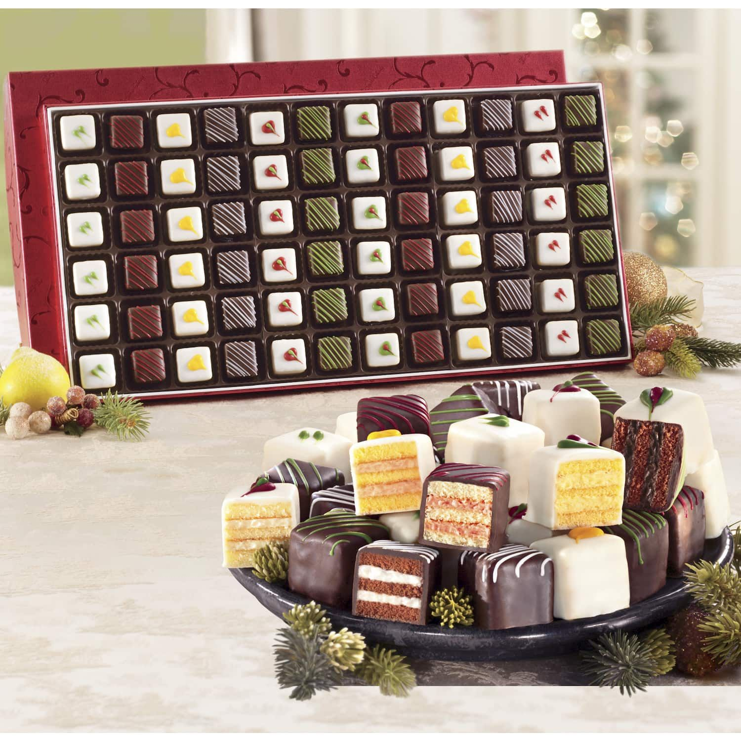 Christmas petit fours swiss colony best wedding gifts