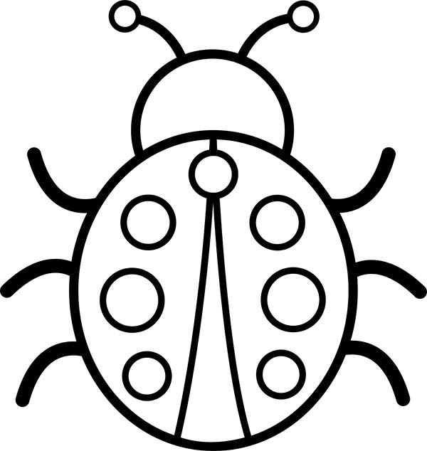 2015 Bug Coloring Pages 8 Jpg 600 634 Ladybug Coloring Page