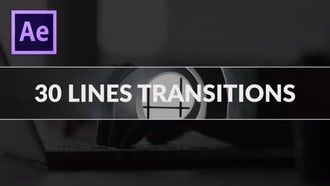 30 Free Line Transitions After Effects Templates Adobe