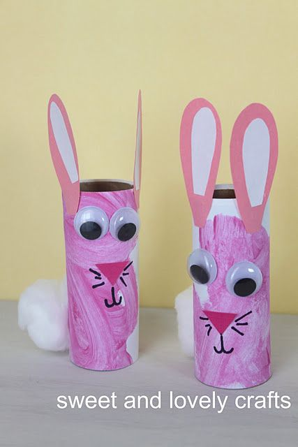Toilet Paper Roll Easter Crafts To Make On Friday Holiday