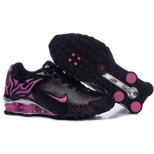 Black · 104264 011 Nike Shox R4 Black Pink J09010. Nike Shox ShoesFashion  DesignWomen ...