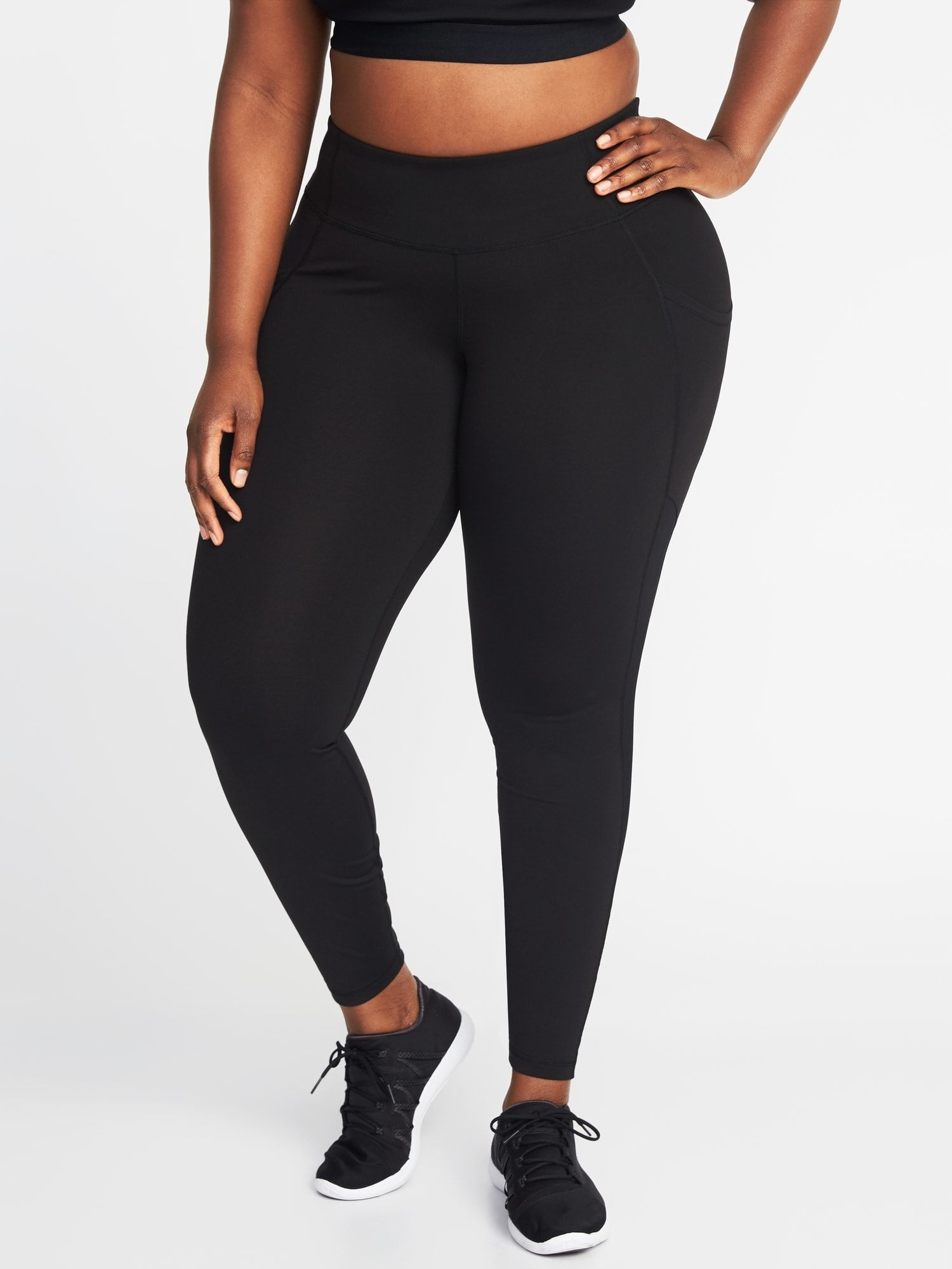 a3184ee657509f product Plus Size Workout, Welt Pocket, Old Navy, Workout Leggings, Mesh,