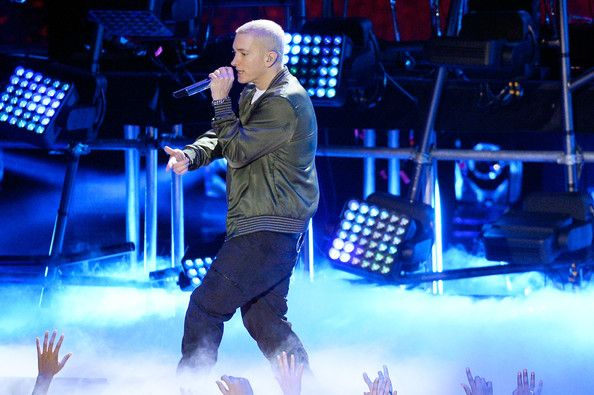 Eminem Photos Photos Mtv Movie Awards Show Eminem My Next Ex