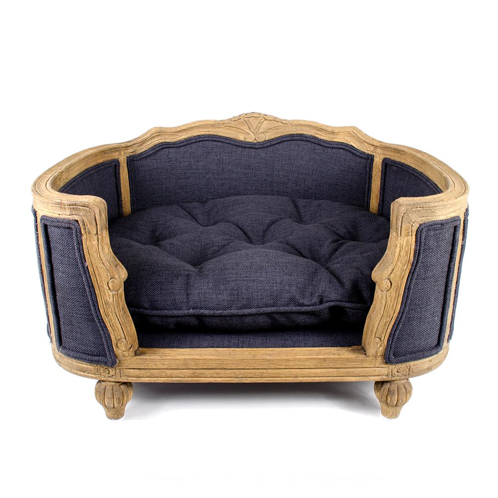 Arthur Fusili Dark Blue/Grey Upholstered   Lord Lou