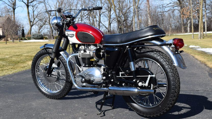 e5bba61d9c 1967 Triumph Bonneville T120 From the Gary Mitsch Collection presented as  lot S67 at Schaumburg