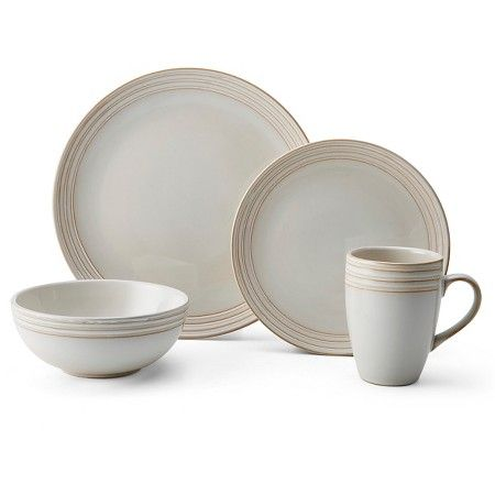 toile dish sets christmas plates gibson home christmas toile 16 piece dinnerware