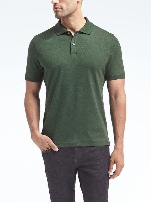 c4be68a66f4 Luxury-Touch Polo Banana Republic, Touch, Luxury Wardrobe, Polo, Sleeves,