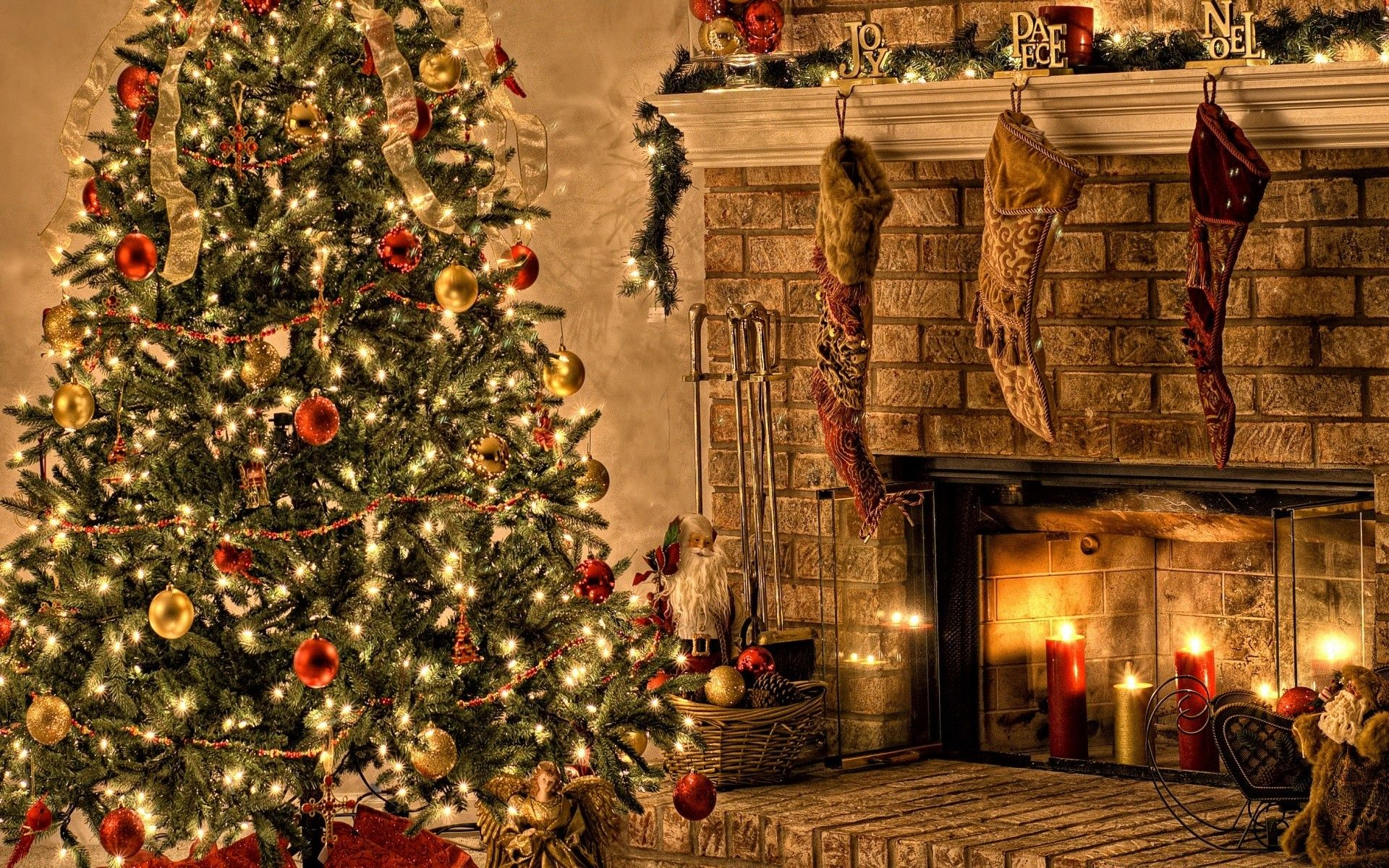 Hd Wallpapers For Laptop Android And Iphone Christmas Night Christmas Wallpaper Wallpaper Decor
