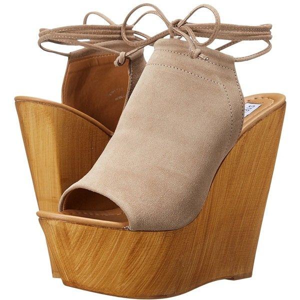 f6c4861ba16 Steve Madden Bonelli Women's Wedge Shoes ($130) ❤ liked on Polyvore ...