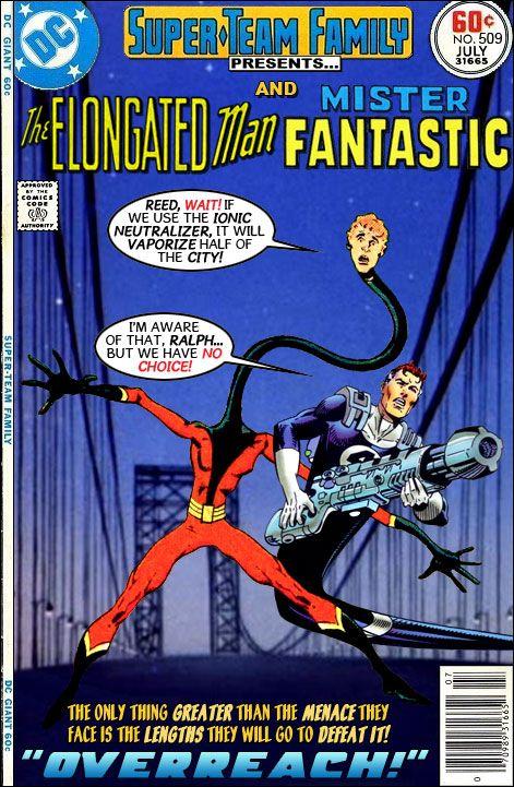 Elongated Man And Mr Fantastic Mister Fantastic Classic Comics