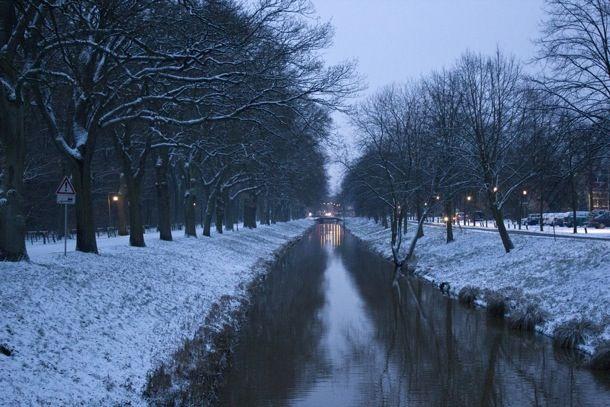 Wintereinbruch in Bremen - Katharazzis Fotografie