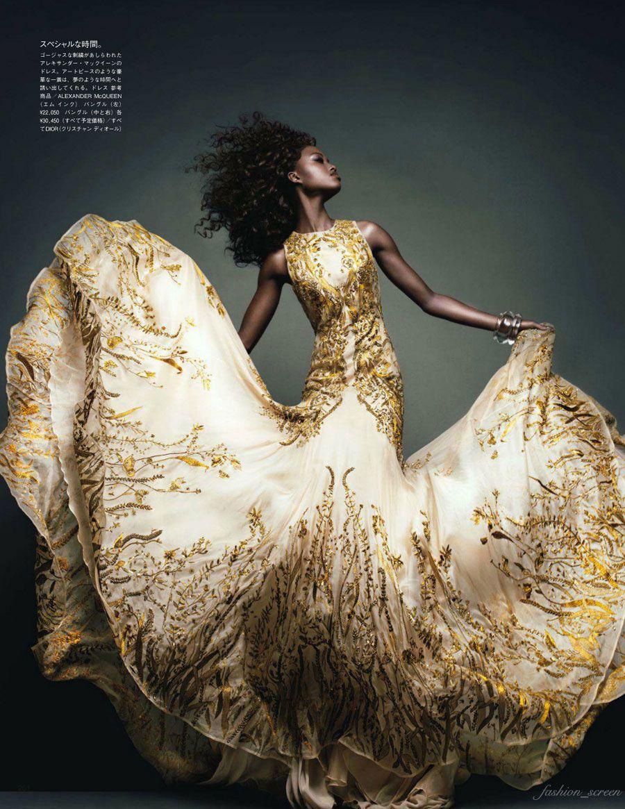 Nyasha Matohondze: Vogue Japan November '11