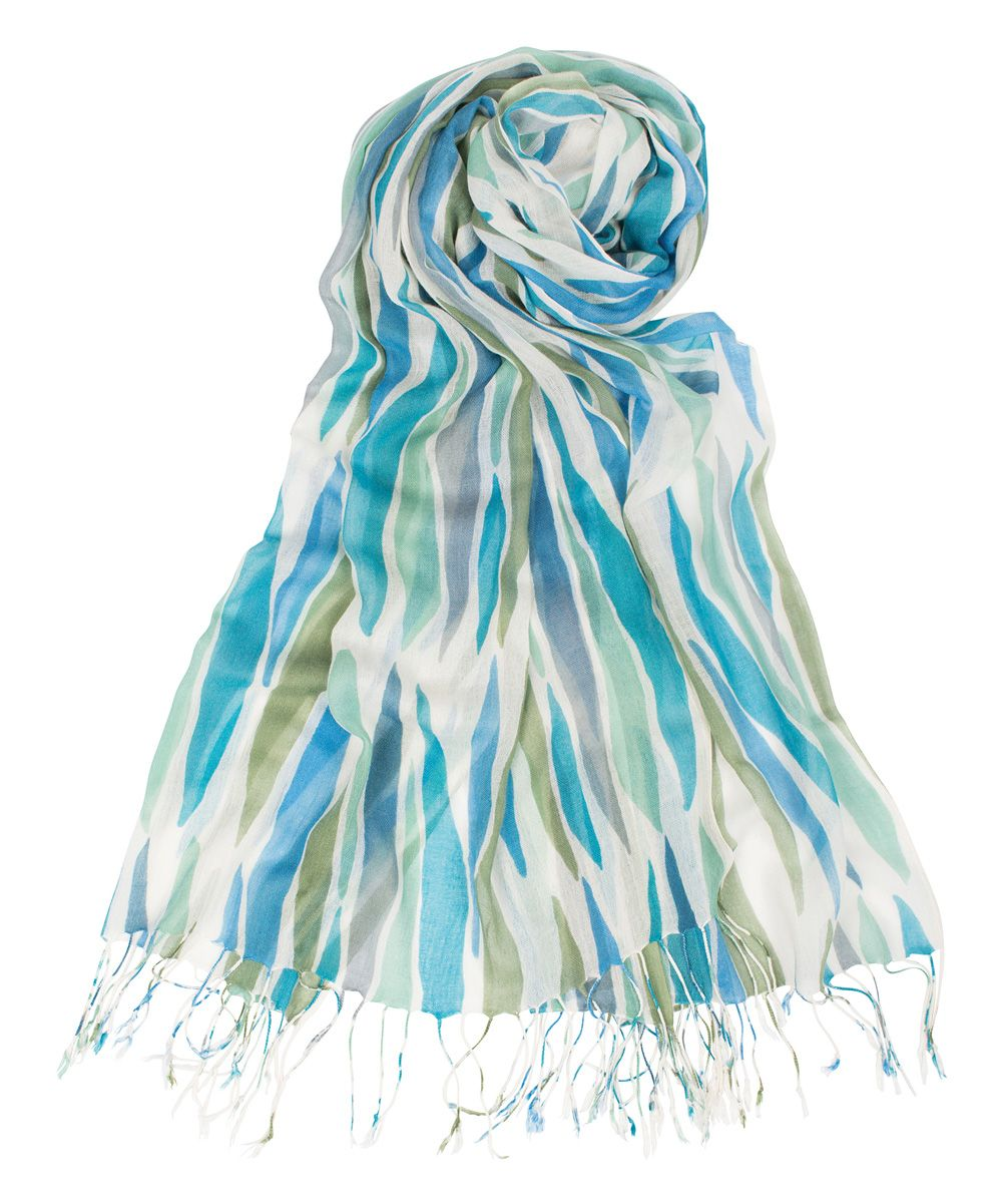 Ocean Feathers Scarf