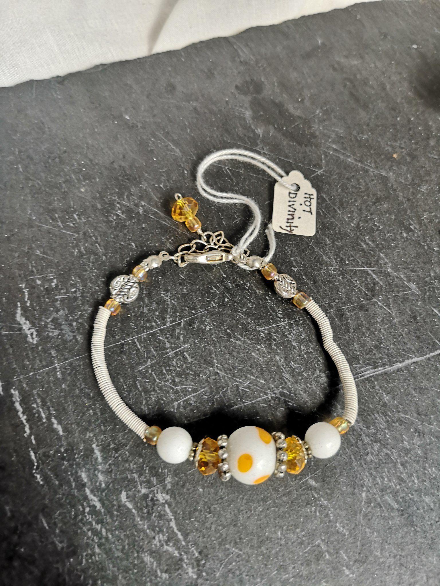 marque populaire rencontrer plutôt sympa Divinity Bracelets, Handmade, with Lampwork focal beads ...