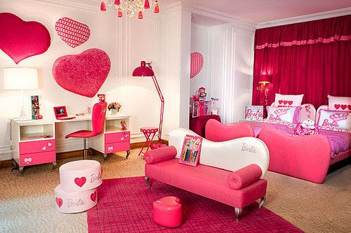 Cute Pink Rooms Amusing Another Genius Rich People Idea For An Awesome Barbie House