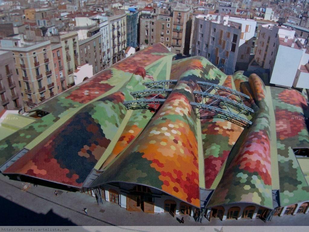 Mercat De Santa Caterina Cerca Amb Google Barcelona Pinterest ~ Mercadillos En Barcelona Y Alrededores