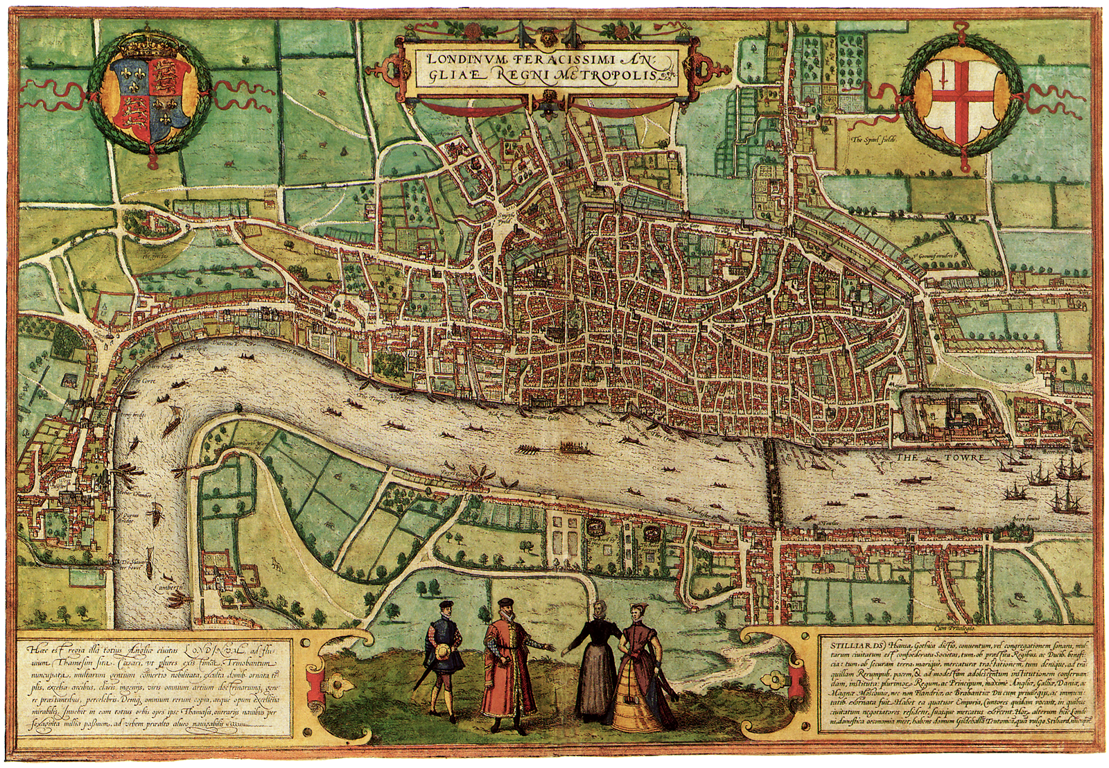 London, 16th century | Antique and/or Cool Maps | Pinterest