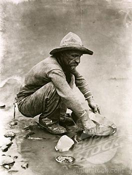 Gold Rush 1849 Miners