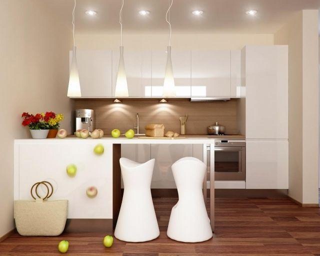 Magnolie Farbe küche farben ideen magnolia wandfarbe holzboden spritzschutz