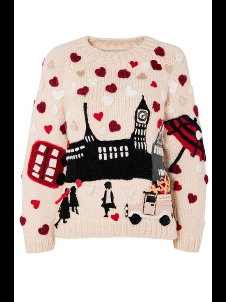 Burberry 2013 Charity Christmas jumper