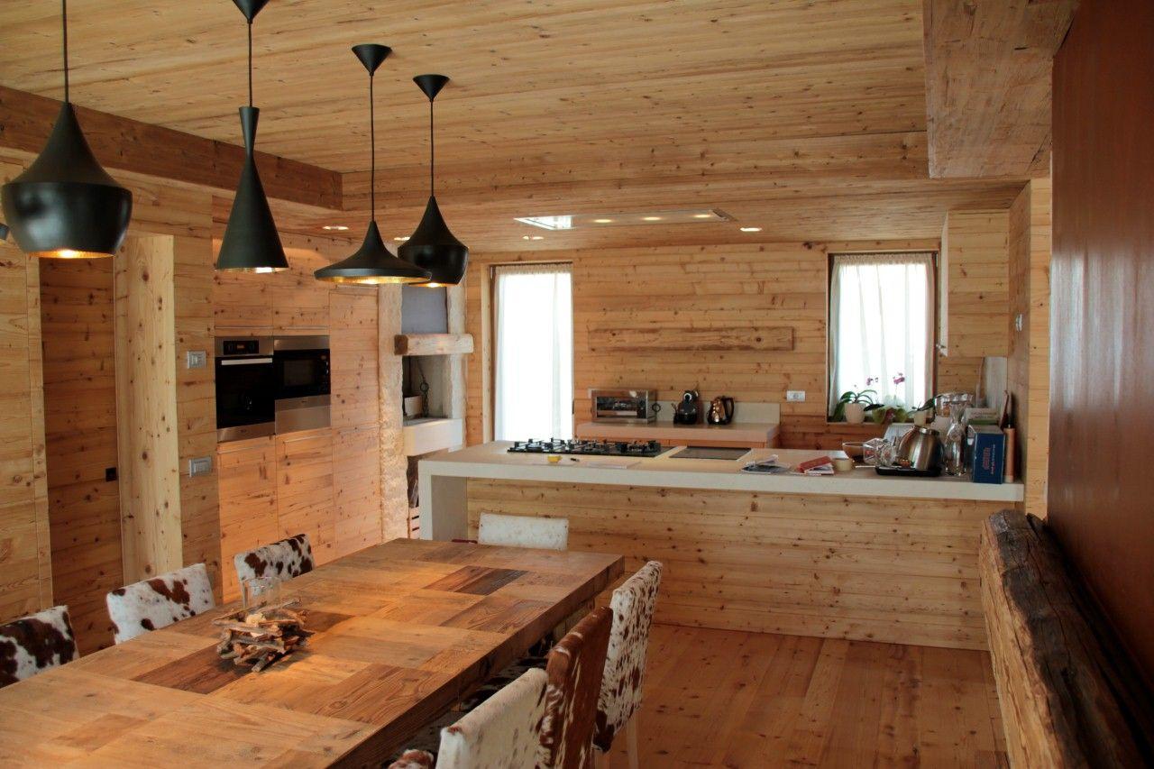 Image result for case di montagna interni cabin in the for Stili arredamento interni