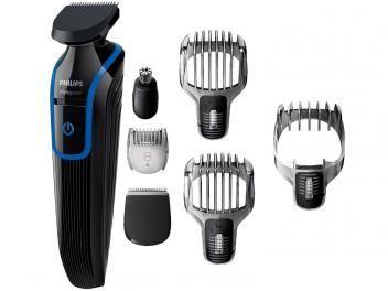 Aparador De Barba 18 Niveis De Ajuste Philips Multigroom Funcao