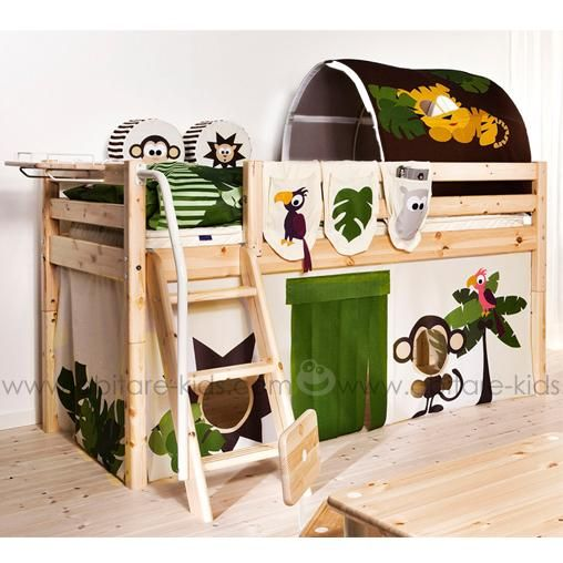 cabane de lit en tissu stunning ikea kura tente dans un lit duenfant with cabane de lit en. Black Bedroom Furniture Sets. Home Design Ideas