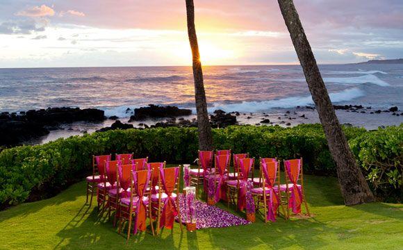 Sheraton Kauai Weddings Ocean Point Wedding This Is Beautiful