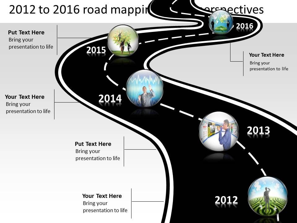 Timeline Roadmap powerpoint templates and presentation slides - roadmap powerpoint template